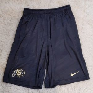 Colorado University Go Buffs Nike Dri Fit Shorts S